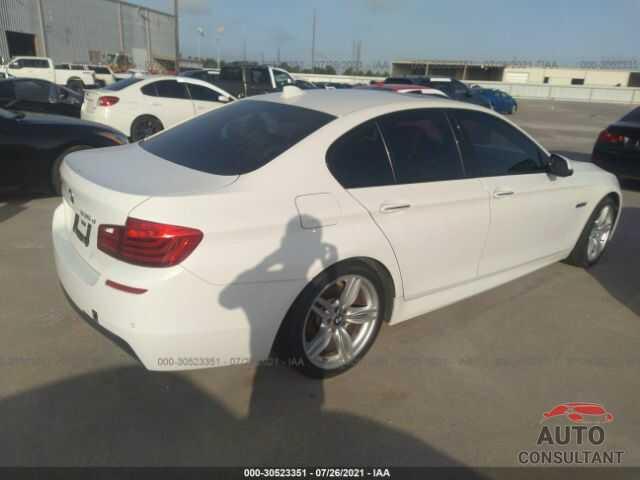 BMW 5 SERIES 2016 - WBAXA5C58GD691908
