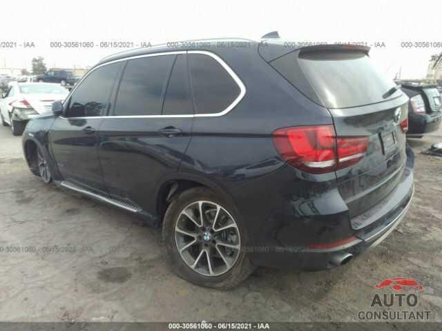 BMW X5 2016 - 5UXKR0C59G0P21285