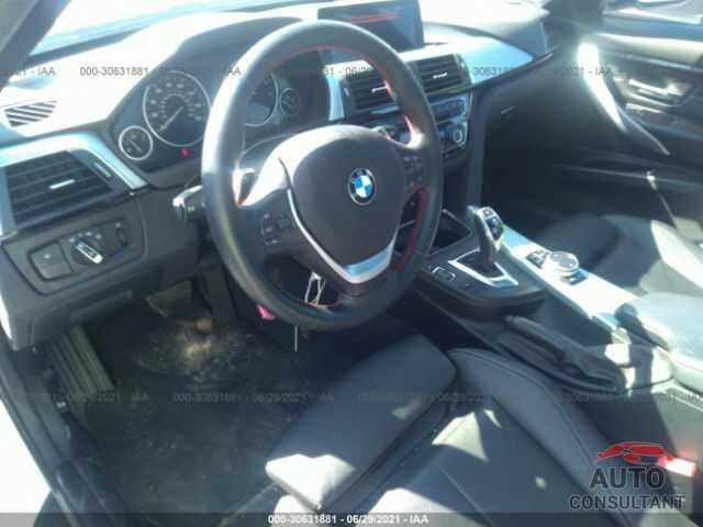 BMW 3 SERIES 2016 - WBA8E3C55GK504603
