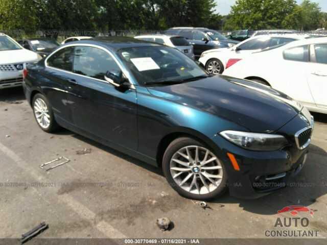 BMW 2 SERIES 2016 - WBA1G9C58GV726226