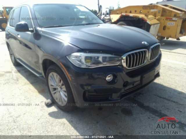 BMW X5 EDRIVE 2016 - 5UXKT0C51G0S78096
