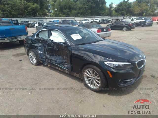 BMW 2 SERIES 2016 - WBA1F9C54GV545191