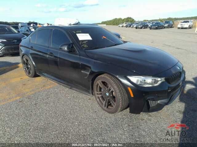 BMW M3 2016 - WBS8M9C50G5D30569