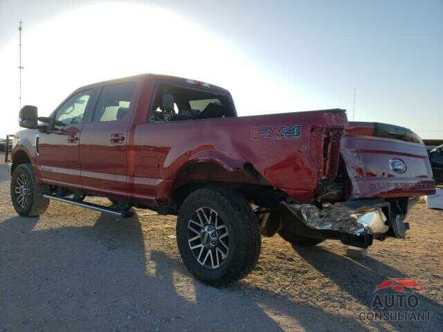 FORD F250 2017 - 1FT7W2BT9HEB17185