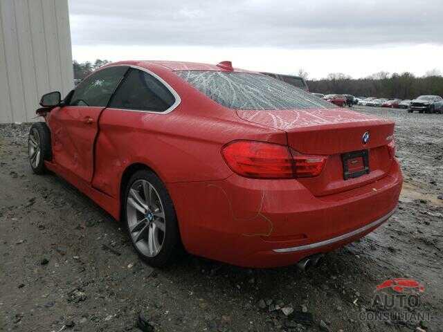 BMW 4 SERIES 2017 - WBA4R7C55HK895716
