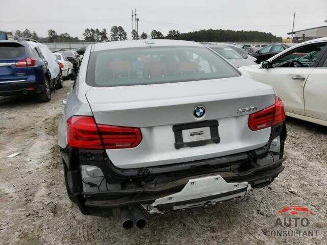 BMW 3 SERIES 2017 - WBA8B9G34HNU54233