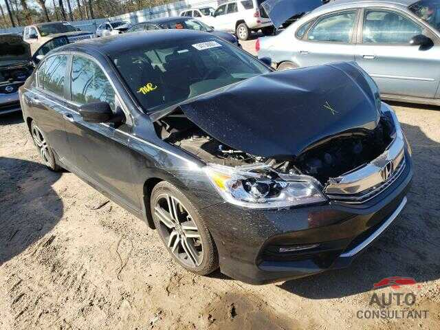 HONDA ACCORD 2017 - 1HGCR2F51HA083804