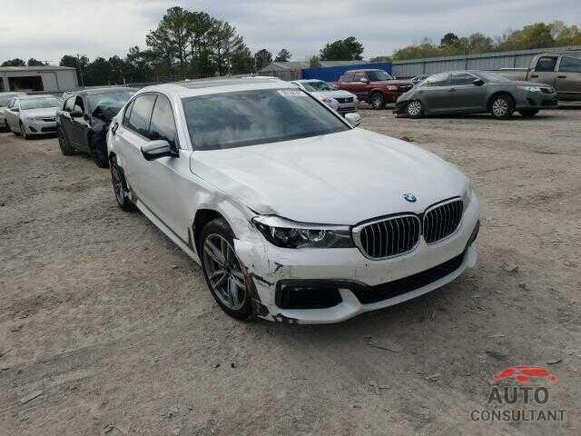 BMW 7 SERIES 2017 - WBA7E2C37HG741215