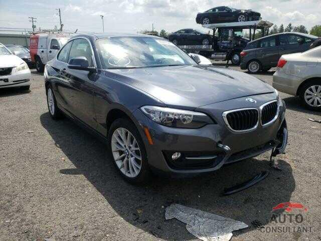 BMW 2 SERIES 2017 - WBA2H9C30HV642502