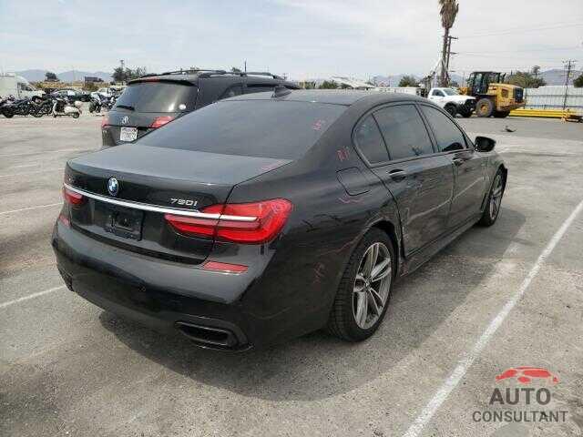 BMW 7 SERIES 2017 - WBA7F2C53HG421789