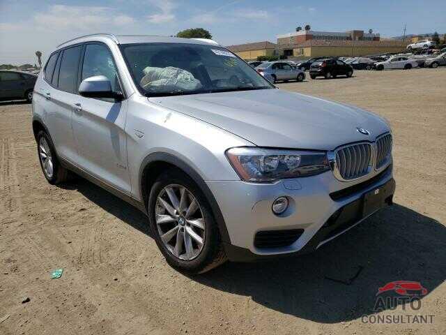 BMW X3 2017 - 5UXWZ7C36H0V91752