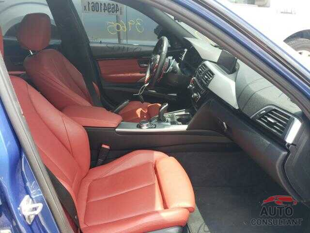 BMW 3 SERIES 2017 - WBA8B3G36HNU36331