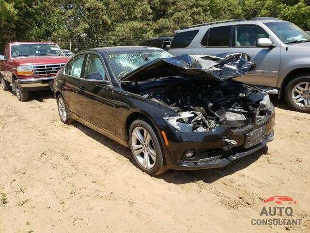 BMW 3 SERIES 2017 - WBA8D9C3XHA004951