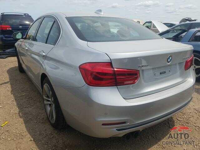 BMW 3 SERIES 2017 - WBA8D9C35HA011449