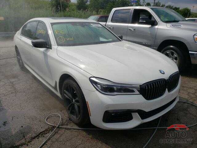 BMW 7 SERIES 2017 - WBA7F2C33HG423444