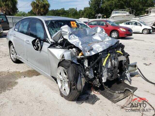 BMW 3 SERIES 2017 - WBA8B3G30HNU35823