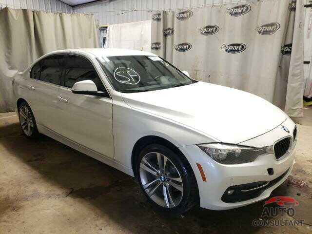 BMW 3 SERIES 2017 - WBA8B9G55HNU50340