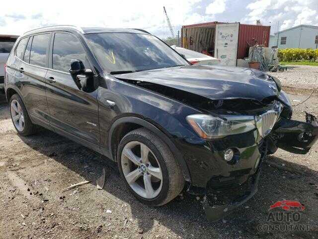 BMW X3 2017 - 5UXWX7C53H0U41170