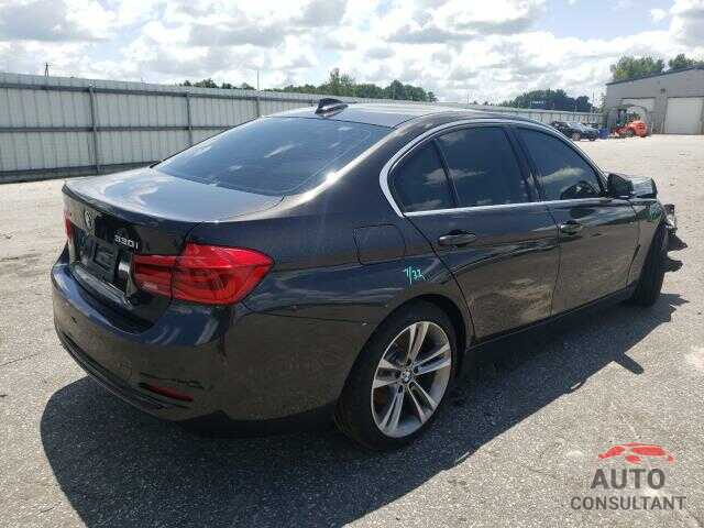 BMW 3 SERIES 2017 - WBA8D9G52HNU59622