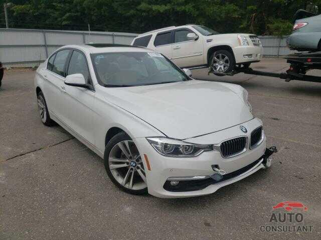BMW 3 SERIES 2017 - WBA8D9G53HNU60942