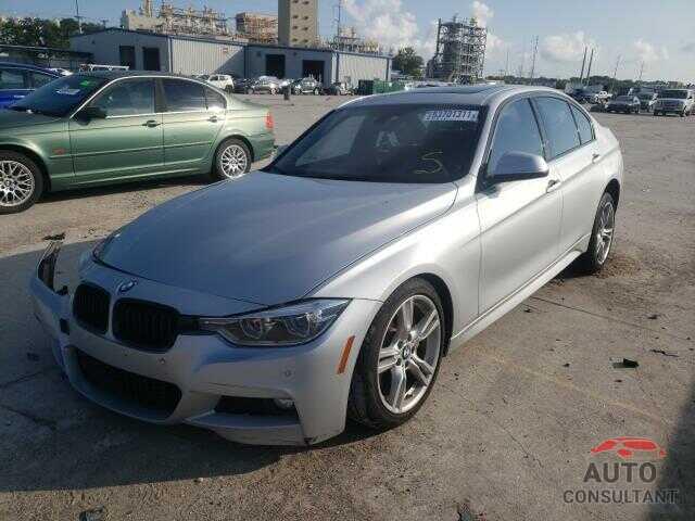 BMW 3 SERIES 2017 - WBA8D9G50HNU60686