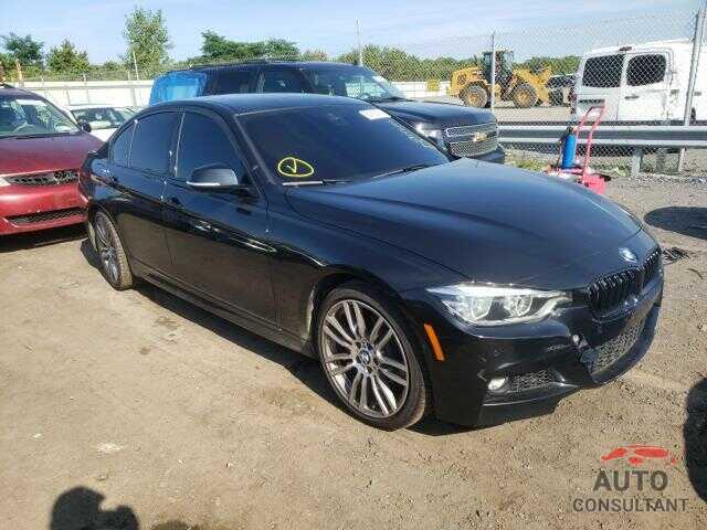 BMW 3 SERIES 2017 - WBA8B7C34HK858788