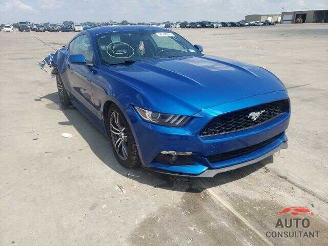 FORD MUSTANG 2017 - 1FA6P8TH4H5295503