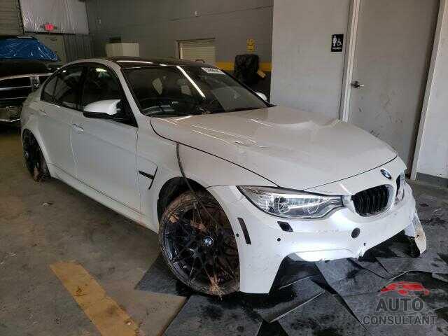 BMW M3 2017 - WBS8M9C5XH5G84021