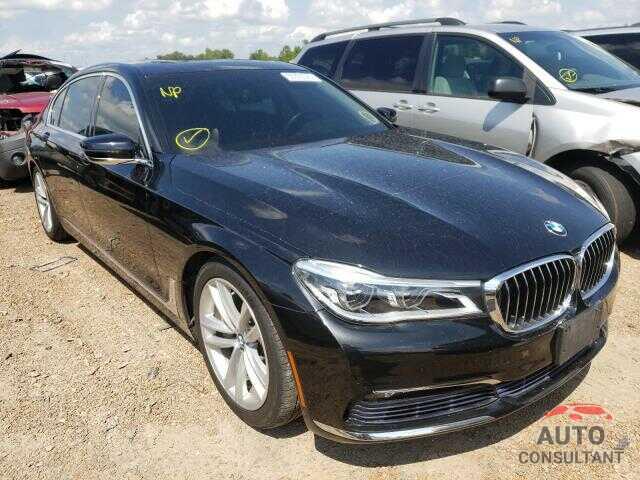 BMW 7 SERIES 2017 - WBA7F2C58HG421223