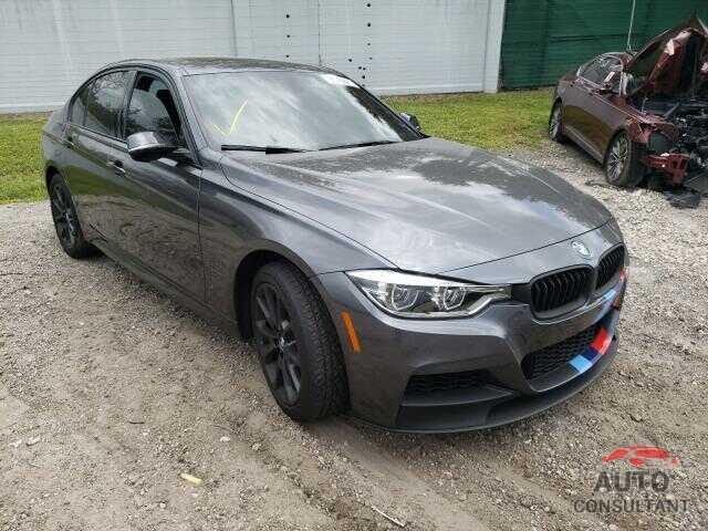 BMW 3 SERIES 2017 - WBA8B7G37HNU38080