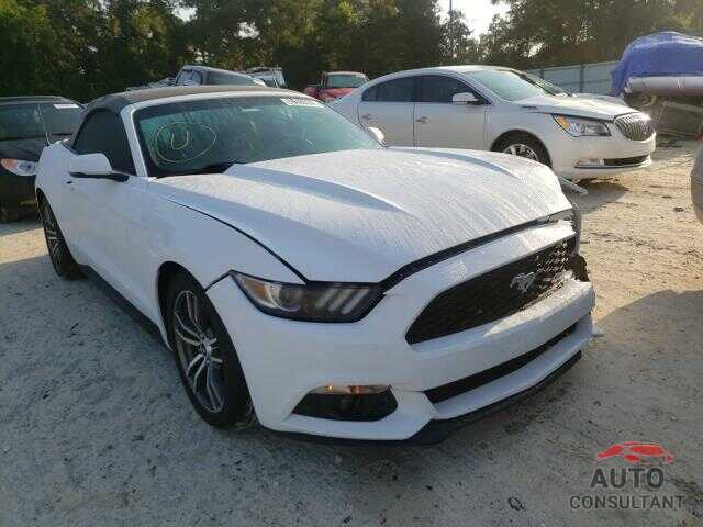 FORD MUSTANG 2017 - 1FATP8UH4H5220513