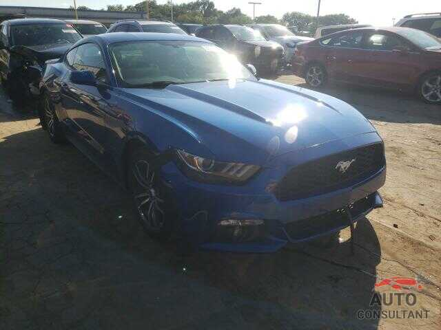 FORD MUSTANG 2017 - 1FA6P8TH6H5255519