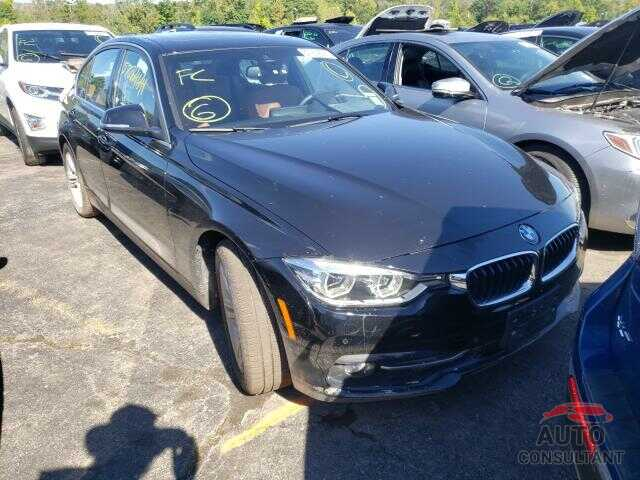 BMW 3 SERIES 2017 - WBA8D9G39HNU65951