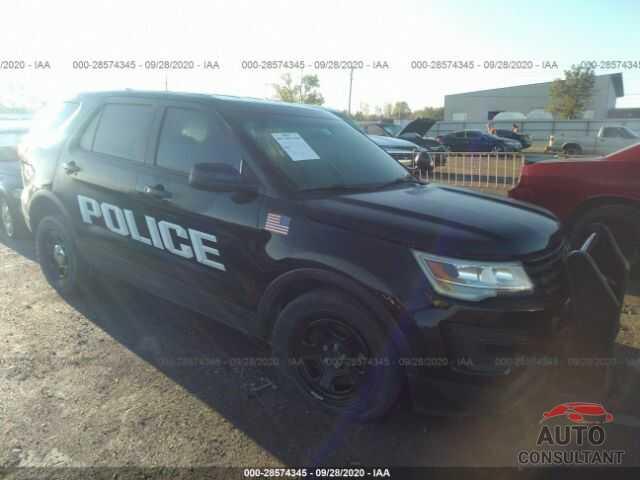 FORD POLICE INTERCEPTOR 2017 - 1FM5K8AR5HGB55833