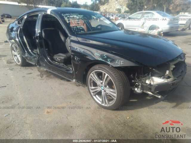 BMW 4 SERIES 2017 - WBA4F7C55HG787110