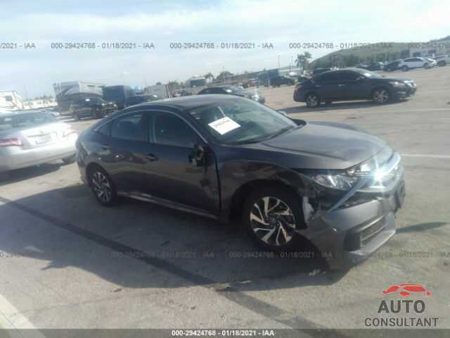 HONDA CIVIC SEDAN 2017 - 19XFC2F78HE059589