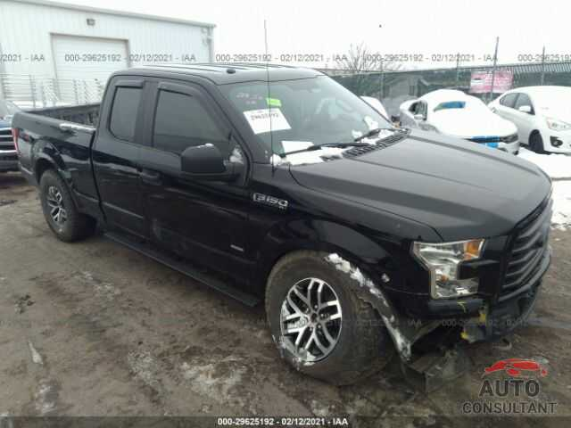 FORD F-150 2017 - 1FTEX1EP4HFA92056