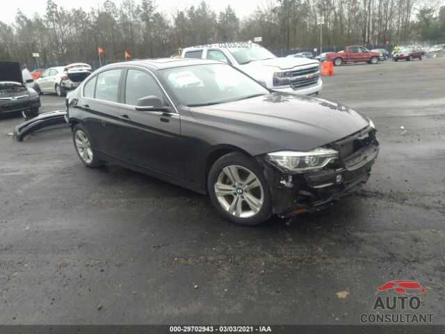 BMW 3 SERIES 2017 - WBA8B9G50HNU49239
