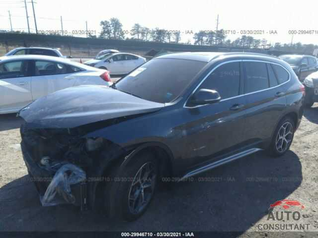 BMW X1 2017 - WBXHT3C37H5F84919