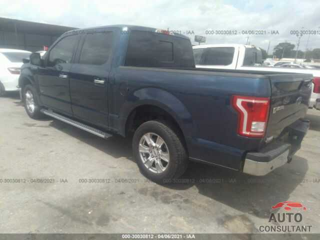 FORD F-150 2017 - 1FTEW1CP1HKC60300