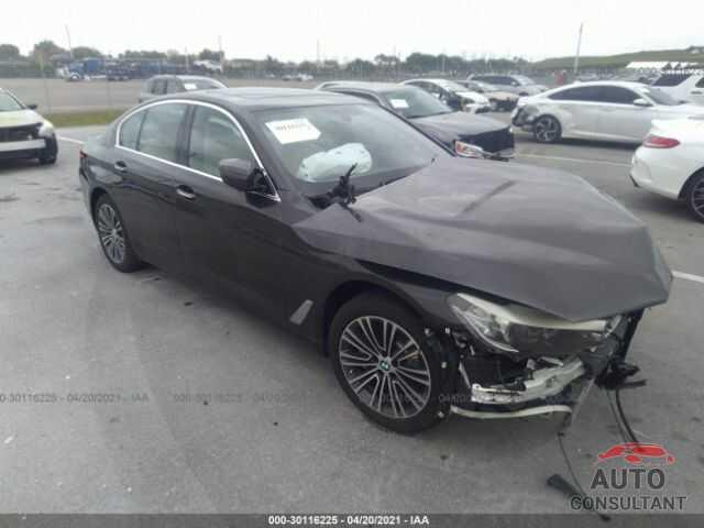 BMW 5 SERIES 2017 - WBAJA5C32HG895950