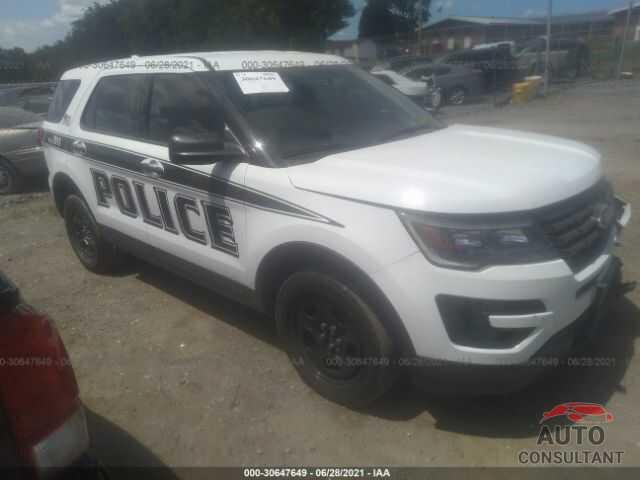 FORD POLICE INTERCEPTOR 2017 - 1FM5K8AR1HGE14608