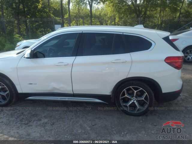 BMW X1 2017 - WBXHT3C38H5F84945