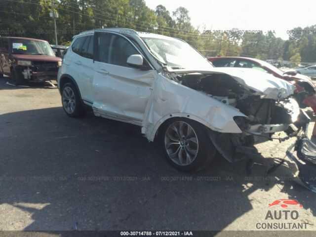BMW X3 2017 - 5UXWX9C52H0T02742
