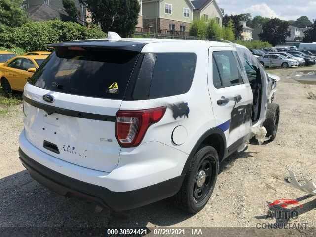 FORD POLICE INTERCEPTOR 2017 - 1FM5K8AR8HGD06406