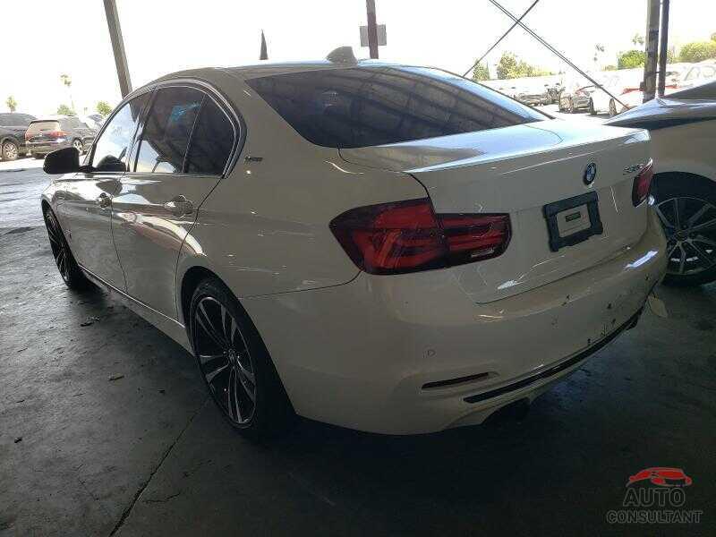 BMW 3 SERIES 2018 - WBA8E1C54JA178665