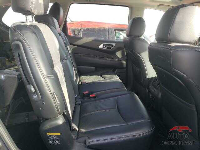 NISSAN PATHFINDER 2018 - 5N1DR2MM6JC657753