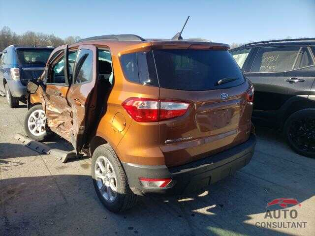 FORD ALL OTHER 2018 - MAJ3P1TE4JC205672