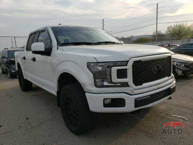 FORD F150 2018 - 1FTEW1E52JFB83253