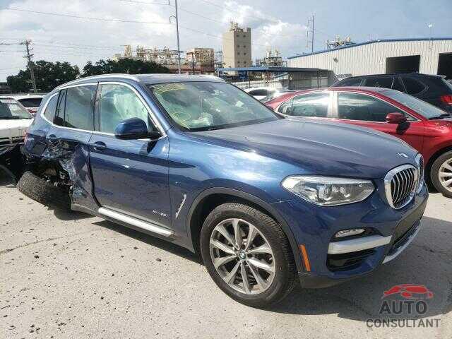 BMW X3 2018 - 5UXTR9C58JLC68956